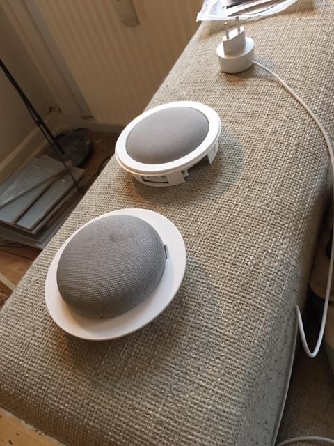 Google Home højtalere